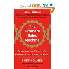 Book #9 of 2012: The Ultimate Sales Machine    This one was recommended to me by an internet friend of mine. I am always looking for different and better ways to execute my sales cycle, so this seems like an opportunity to tighten the ship.    Have you read it?