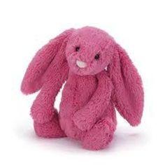Medium Jellycat Bashful Bunny Rabbit Strawberry, Jellycat Bunny, Jellycat Stuffed Animal, Bunny Toy, Jellycat Rabbit, Plush Bunny Rabbit | Toad Hollow