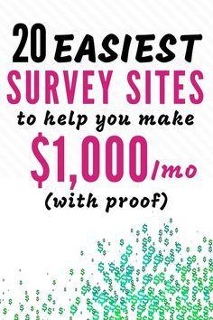 15 Best Survey Sites 2020 Surveys For Money Online Surveys