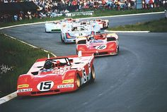 Ferrari 312 P s-n 0878-71may25 dnf (engine) 1000km Nuerburgring Jacky Ickx-Clay Regazzoni #15