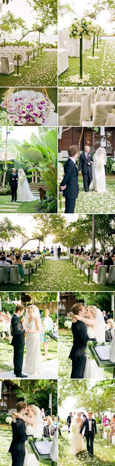 Destination #wedding in Thailand. Could it be more stunning? Probably not.