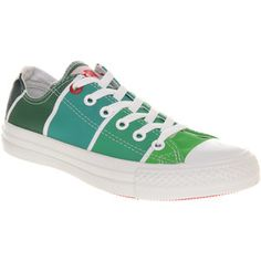 Pantone, green Converse All star ox low Green Converse, Converse All Star Ox, Pantone Green, Go Green, Chuck Taylor Sneakers, High Top Sneakers, My Style, Shoes, Beautiful
