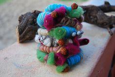 sacred living moment bracelets colorfull от AteljeaRtconFusion