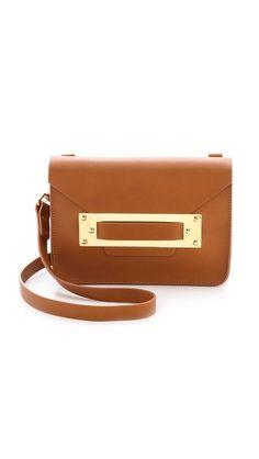 Sophie Hulme Mini Envelope Bag - Tan by: Sophie Hulme @Shopbop