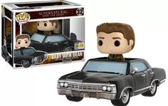 Supernatural Baby with Dean pop funko