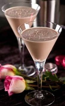18 Romantic Cocktails compliments of @HGTV - Skip the flowers and chocolate and mix up a Romantic cocktail instead. | Love, Grandin Road