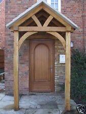 Oak porch Porch Beams, Cottage Porch, Red Bricks, Beach Cottages, Gazebo, Outdoor Structures, Cabin, Porches, Simple