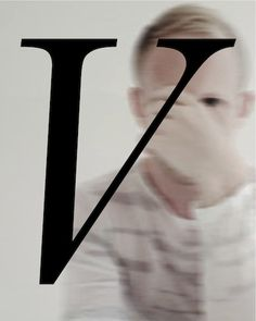 V / typography / on TTL Design