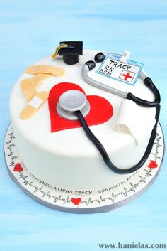 Haniela's: Nurse Graduation Cake