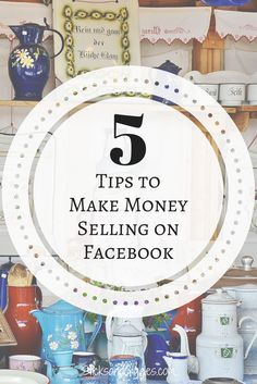 Selling in Facebook groups can make you a ton of money.