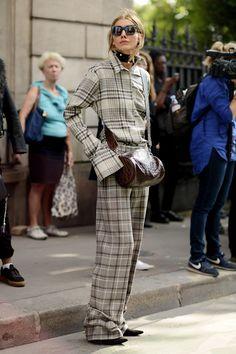 Los mejores looks de Street Style de la París Fashion Week -StyleLovely