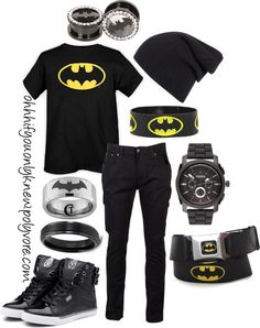 """Batman"" by ohhhifyouonlyknew on Polyvore"