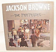 Jackson Browne – The Pretender -1976- Asylum Records – 7E-1079-A SP