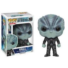 This is the Star Trek Beyond POP Krall Vinyl Figure. It's produced by the cool people over at Funko. With the new movie coming out, fans of Star Trek and Funko