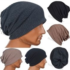 Men baggy slouchy Beanie Hat knit Skullcap ski SNOWBOARD HIPSTER hat #FORBUSITE #Beanie