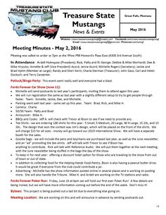 For all the news you need to know, click the link to view our May 2016 Newsletter:  http://treasurestatemustangclubgf.weebly.com/uploads/2/6/9/1/26917180/may_2016_newsletter.pdf