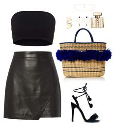 """""""Untitled #582"""" by hayleyl22 ❤ liked on Polyvore featuring Nannacay, Michelle Mason, Gucci, Isabel Marant and Madewell"""