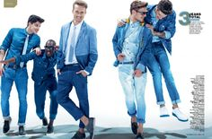 Nautical, Vibrant Colors, Totally Jeans, Pure White and Tropical: 5 Trends Summer by GQ Brazil.