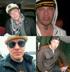 Ladies and Gents, I present to you.. George Ragan (Johnny 3 Tears) of Hollywood Undead.