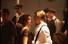 Kate Winslet and Leonardo DiCaprio in Titanic Titanic Movie Facts, Titanic Quotes, Titanic Leonardo Dicaprio, Young Leonardo Dicaprio, Classic 90s Movies, Good Movies, Leo Dicaprio Kate Winslet, Titanic Behind The Scenes, Kate Winslet Images