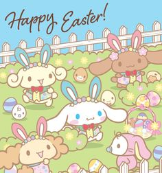 Happy Easter! #Cinnamoroll ٩(๑❛ᴗ❛๑)۶