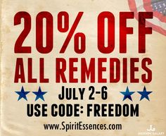 #Holistic Remedies for #Animals!! Through today, #SpiritEssences is offering a 20% discount on ALL of their holistic products! These are tools you can use to help your #pets! ( #cats, #dogs, #parrots, #horses and more!) Details: http://www.spiritessences.com/