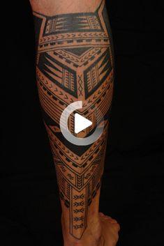 Cute Samoan Guys | Samoan Polynesian Calf Tattoo #legtattoos Calf Tattoo, Forearm Tattoo Men, Tribal Tattoos For Men, Tattoos For Guys, Geometric Tattoo Leg, Flower Leg Tattoos, Calves, Baby Cows, Tattoos For Men