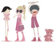 :characters: by Pocket-Zoo.deviantart.com on @deviantART