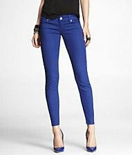 Love the royal blue Jeans!