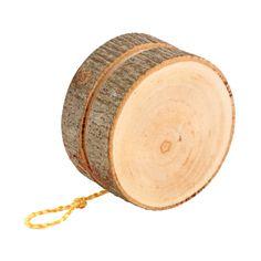 Rustic Wooden YoYo