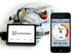Wattvision - The Smart Energy Sensor by Wattvision, via Kickstarter.