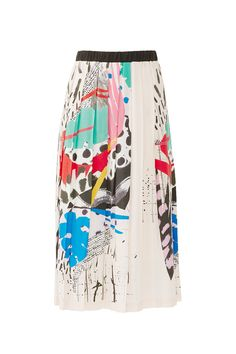 Alicia Painterly Skirt by Corey