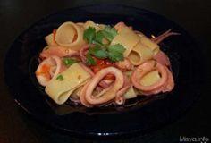 Pasta ricette Calamarata