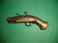 Pistola de Chispa Catalana S. XVIII