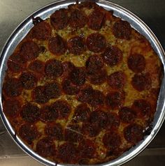 Fricanos Double Pepperoni, Extra Bird Seed Pizza