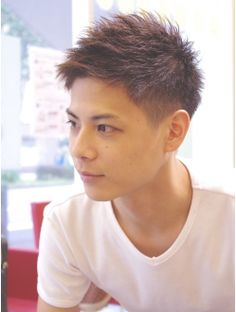 Japanese Men Hairstyle, Asian Men Hairstyle, My Hairstyle, Asian Hair, Cool Haircuts, Haircuts For Men, Mens Hairstyles Fade, Faded Hair, Hair Reference