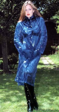 Raincoats For Women Christmas Gifts Blue Raincoat, Pvc Raincoat, Raincoat Jacket, Plastic Raincoat, Plastic Pants, Hooded Raincoat, Plastic Mac, Rain Jacket, Imper Pvc