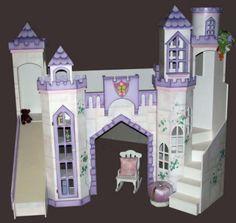 DIY Princess Bunk Beds | House Design | Decor | Interior Layout ...