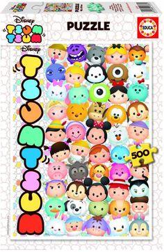 Puzzle EDUCA: Puzzle de 500 piezas Puzzle Tsum Tsum Caritas ( Ref: 0000016787 ) en Puzzlemania.net