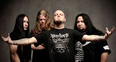 Divine Heresy - Fast, driving, intense death metal sound rounded out with one of the most powerful vocalists out there.