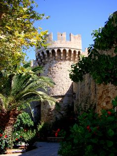 Gardens at the Grand Master's Palace #Rhodes #Greece #MedievalTown