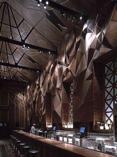2010 Restaurant and Bar Design Awards // Winners announcement via. Yatzer Restaurant & B. Design Exterior, Bar Interior Design, Cafe Design, Modern Interior, Interior Architecture, Design Hotel, Design Suites, Interior Photo, Design Bar Restaurant