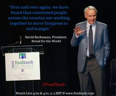 Keynote David Beckmann, President, Bread for the World, shares with Food Tank Summit about the critical work being done, learn more at www.bread.org. Watch Live @ www.foodtank.com #foodtank