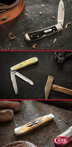 Add handy to your grad& résumé. Swords And Daggers, Knives And Swords, Vintage Pocket Knives, Opinel, Knife Patterns, Case Knives, Vintage Industrial Decor, Edc Everyday Carry, Knife Handles
