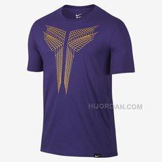 ae5e5d3c6e99 Herren Nike Schweiz Court Lila Nike Kobe 11 T-Shirts 8112