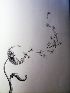 The Dandelion - My new favorite tattoo..I love this so much!