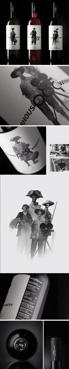 Brand positioning, naming, logo, corporate identity & packaging design for Rhous Winery. By lazy snail
