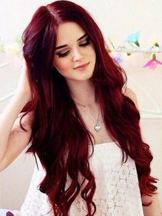 There are some type of Burgundy Hair Color such as Classic, vivid or old burgundy, maroon or oxblood. Here We have 16 Best Burgundy Dark Red Hair Color Ideas Best Red Hair Dye, Dyed Red Hair, Ombre Hair, Red Ombre, Violet Hair, Blonde Hair, Ombre Color, Pastel Hair, Ruby Red Hair
