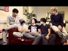 One Direction  - Video Diary 1; Zayn: Vas happening?! The video diaries are back! INBETWEENERS DANCE; GO!(;  Harry: Let's do this poo(;  This is real, this does really hurt. -Lou  I love video diaries<333