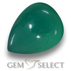 GemSelect features this natural Agate from India. This Green Agate weighs 1.7ct and measures 7.8 x 6.5mm in size. More Pear Cabochon Agate is available on gemselect.com #birthstones #healing #jewelrystone #loosegemstones #buygems #gemstonelover #naturalgemstone #coloredgemstones #gemstones #gem #gems #gemselect #sale #shopping #gemshopping #naturalagate #agate #greenagate #peargem #peargems #greengem #green